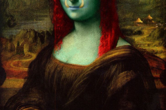 fe87e77f0435499dab7798602252f40d--mona-lisa-smile-fun-art