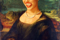 Miley Cyrus Mona Lisa