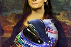beyonce as Mona Lisa